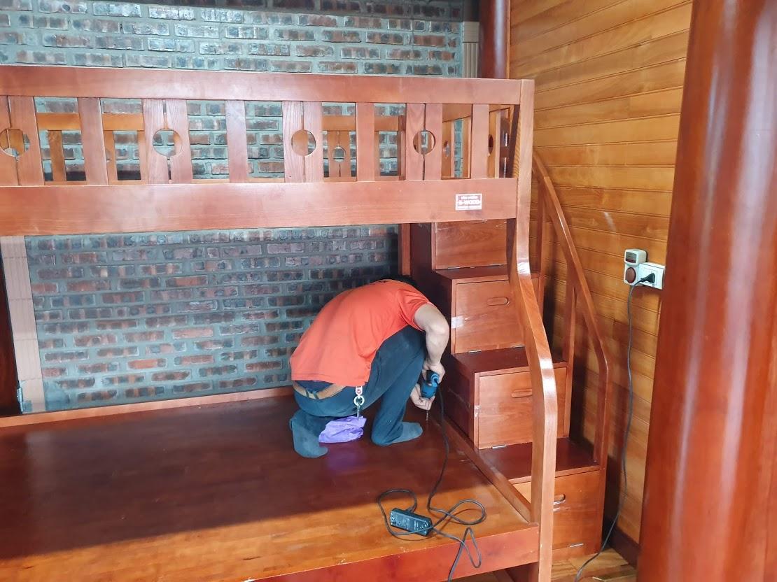 Chuyển Nhà Nghệ An - Tháo lắp giường tầng